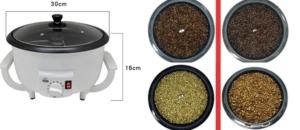 JIAWANSHUN Electric Coffee Bean Roaster