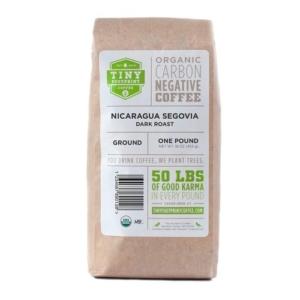 Tiny Footprint Coffee - best for dark roast lovers