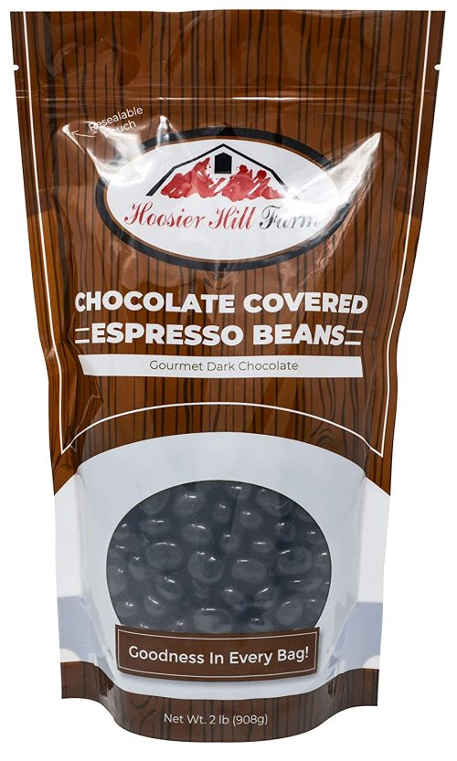 Hill Farm Gourmet Dark Chocolate covered Espresso Beans