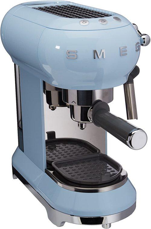 Smeg Espresso Machine Pastel Blue