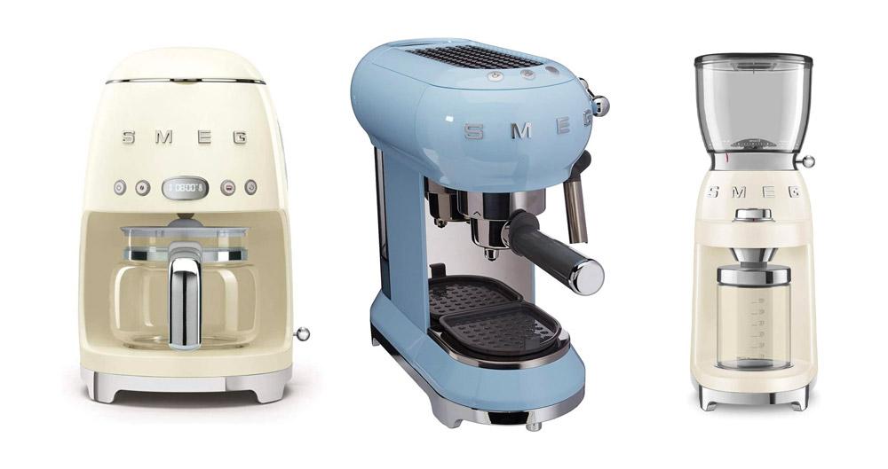 Smeg coffee machines