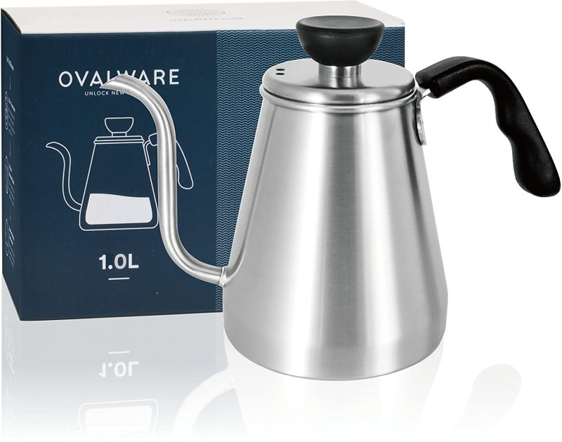 Pour Over Coffee Kettle and Tea Kettle 1.0L / 34oz