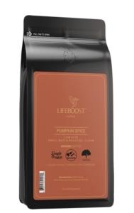 Lifeboost Pumpkin Spice Coffee